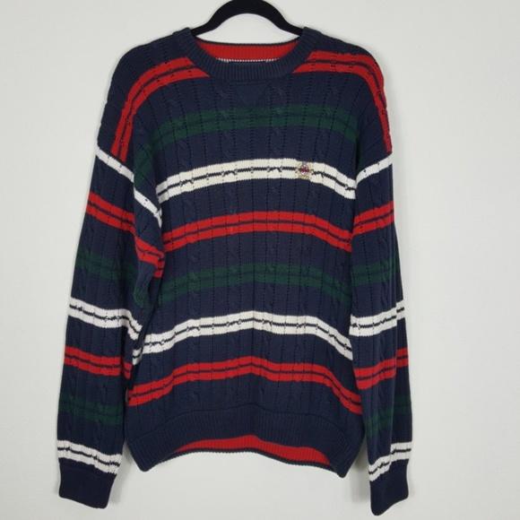 Men s Vintage Tommy Hilfiger Stripe Sweater XL. M 5b7480453e0caa69c314c155 400872009